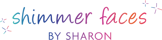 Shimmer Faces by Sharon Logo